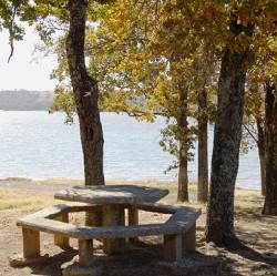 Arrowhead Area at Lake Eufaula State Park