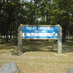 Haines Memorial State Park