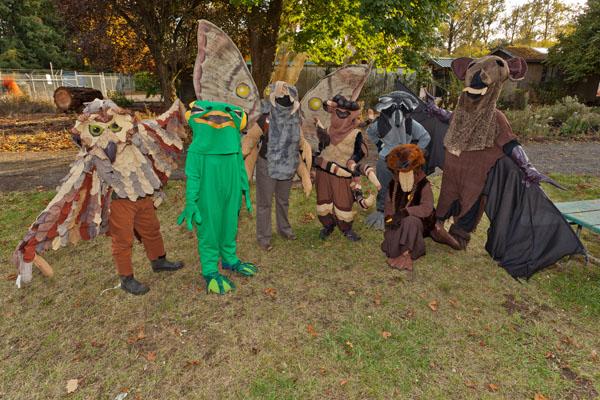 Haunted Hike Actors smaller